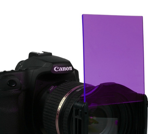 filtro purpura para adaptador cokin.