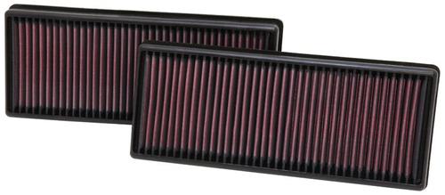 filtro reemplazo k&n 33-2474 mercedes benz e550 4.6 11-