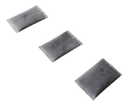 filtro refil p/ banheiro e sanitario durapets kit c/ 3 pecas