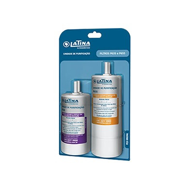 filtro refil skin duplo purificador de água latina p635/p655