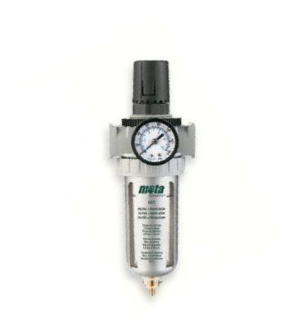 filtro regulador de presion compresor trampa agua 1/4 mota