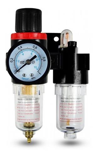 filtro regulador lubricador 1/4 mini frl-1/4 aire guiller