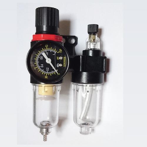 filtro regulador lubricador p/compresor 1/4 - ruhlmann