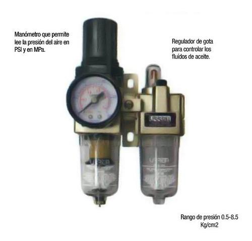 filtro regulador y lubricador de aire urrea upwl2 hm4