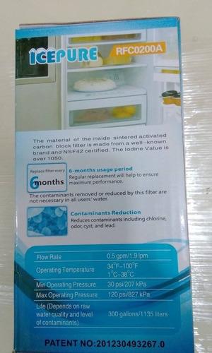 filtro samsung interno tipo botella generico (incl, instcn)