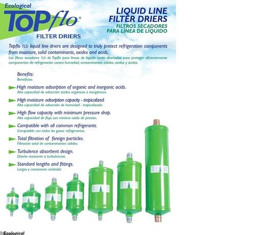 filtro secador topflo tld-165 5/8