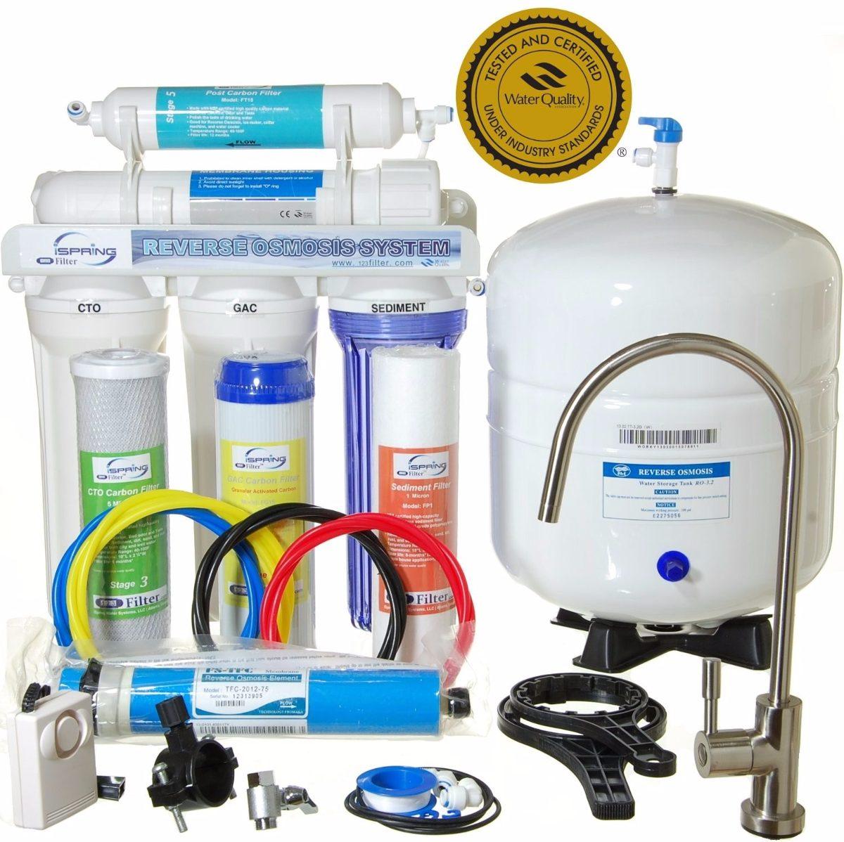 Filtro Sistema 5 Etapas Purificador De Agua 6 475 00