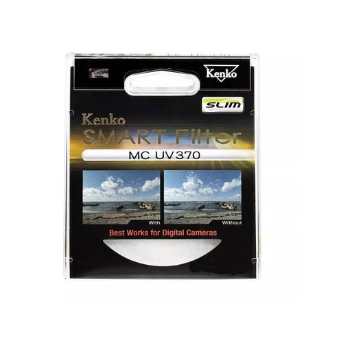 filtro smartfilters slim ultravioleta kenko - mc uv370 67mm