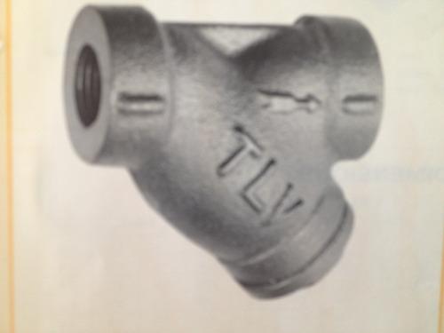 filtro (strainer) marca tlv y3 de 1-1/2 pulgada roscada npt