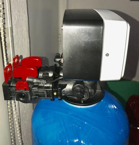 filtro suavizador de agua 9 x 48  válvulas automatica 1 ft3