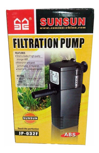 filtro sunsun interno jp-032f - 350l/h - 220v