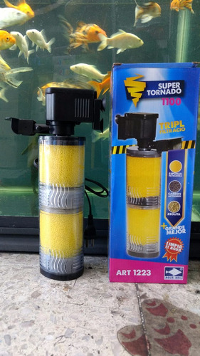 filtro super tornado 1100 peces, acuarios o peceras
