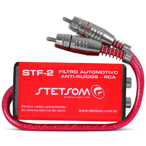 filtro supressor de ruídos stf2 para rca stetsom