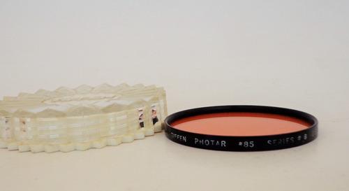 filtro tiffen photar #85 - series #8 - 62 mm
