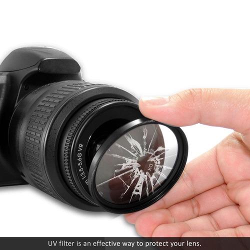 filtro tiffen uv protector 77mm (original - made in usa)