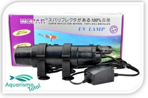 filtro ultra violeta hopar uv 611 - 18w aquários e lagos
