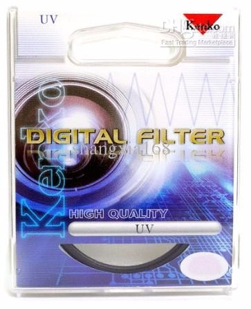 filtro uv 55 mm marca kenko , made in philippines