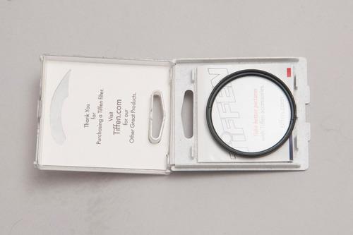 filtro uv 55 mm tiffen en su caja intacto