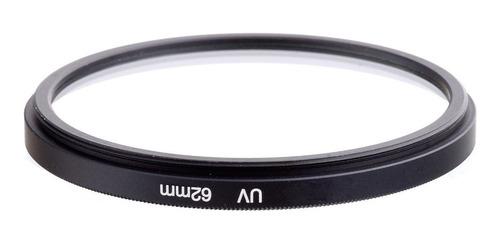 filtro uv 62mm para canon nikon filtro ultravioleta