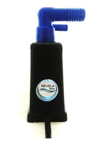 filtro uv-c 8w externo 1/2 lampada germicida frete gratis