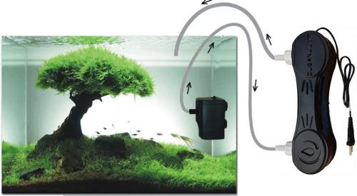 filtro uv-c 8w externo black aquários e lagos lamp. osram