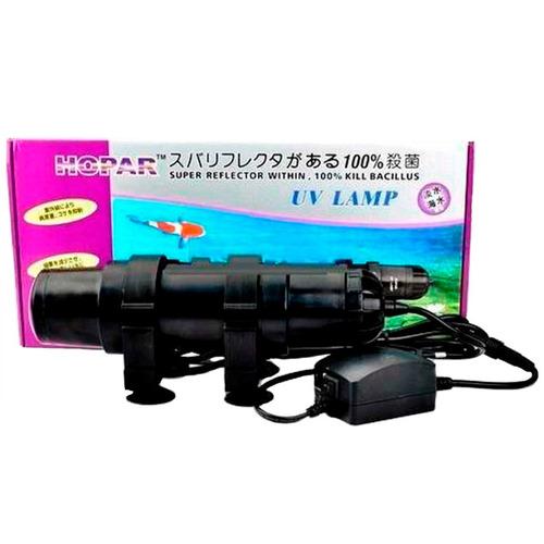 filtro uv hopar 05w para aquários e lagos ultra violeta 110v
