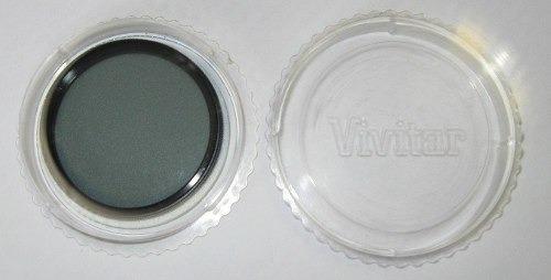 filtro vivitar polarizador cpl 55mm