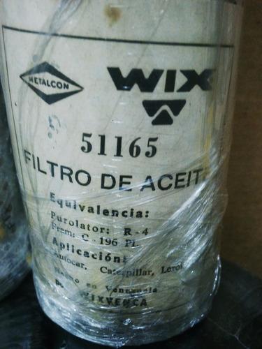 filtro wix 51165 1r0729 p550165 pt66-hd lf546 clark link-bel