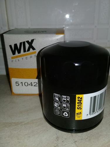 filtro wix aceite 51042 varios vehículos  chevrolet