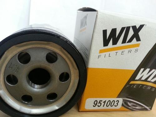 filtro wix aceite 951003 chevrolet aveo 1.6l