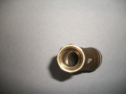 filtro yee de bronce de 1/2