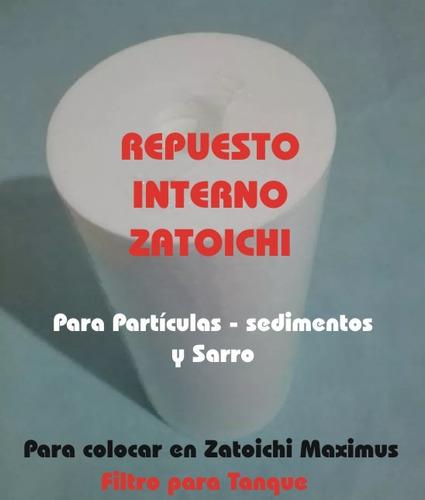 filtro zatoichi maximus / repuesto interno / para partículas