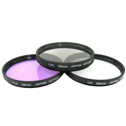 filtros 58mm para