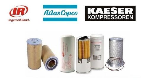 filtros compresor kaeser sullair atlas copco aceite