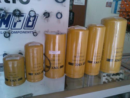 filtros de aceite para caterpilar