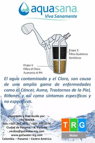 filtros de agua para la ducha aquasana