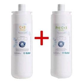 Filtros De Agua Pre C+3 + C+3 Para Purificador Pfq/pfn Ibbl