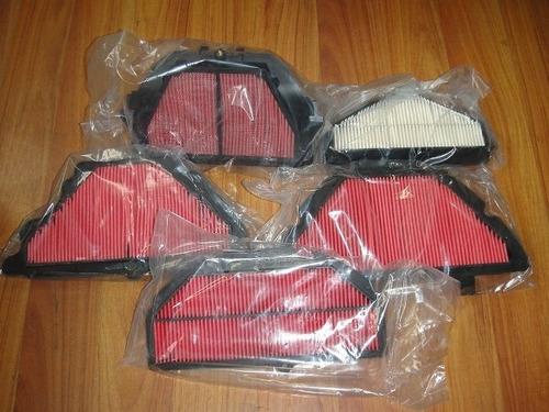filtros de aire para motos pisteras (600cc y 1000cc)