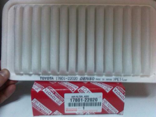 filtros de aire toyota originales