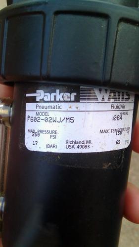 filtros de aire y separador de agua