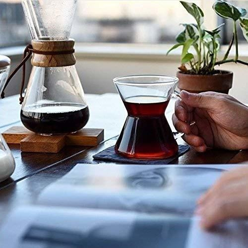 filtros de cafe naturales chemex, cuadrados, 100 unidades -