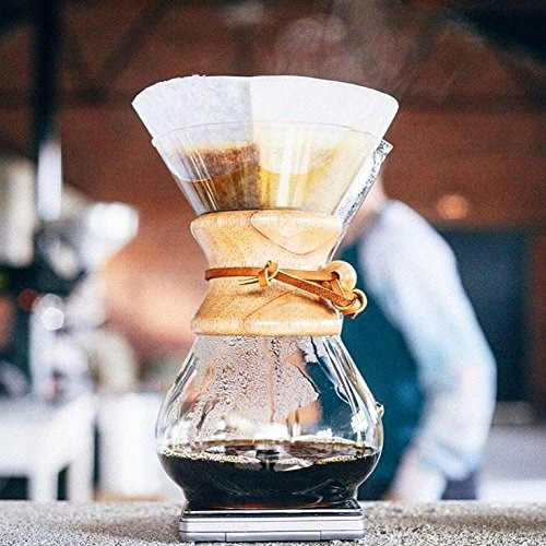 filtros de cafe naturales chemex, cuadrados, 100ct - embalaj
