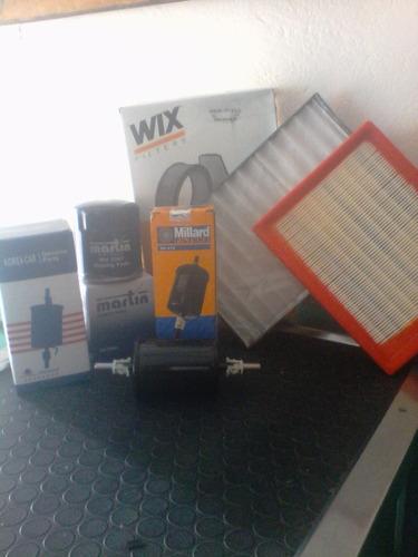 filtros de corsa (no incluye filtro de gasolina)