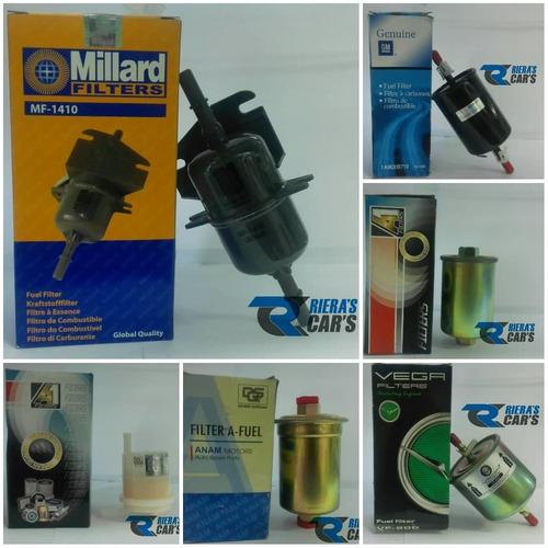 filtros de gasolina