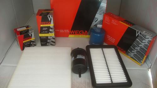 filtros hyundai hb20 1.0  kit todos filtros wega original !