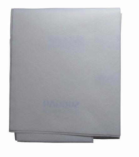 filtros manta para exaustor universal suggar - branco 1 und.