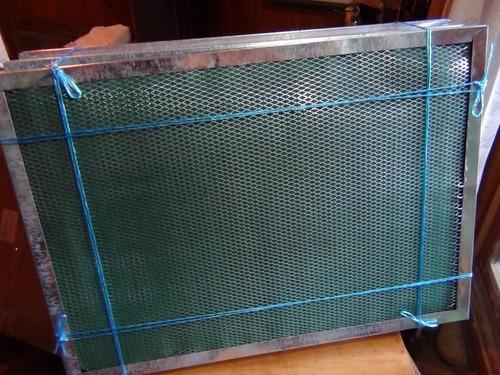 filtros metalicos lamina abrasiva