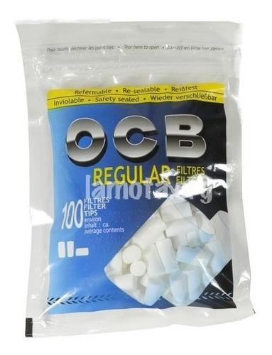 filtros ocb regular x100 premium para armar cigarrillos ryo