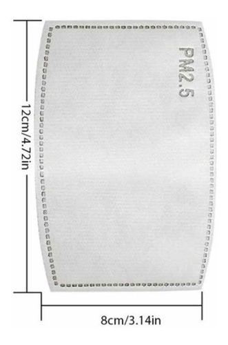 filtros para cubrebocas