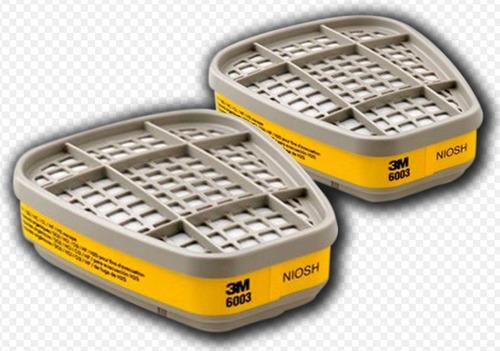 filtros para mascara respiratoria marca 3m ref.6003 (par)